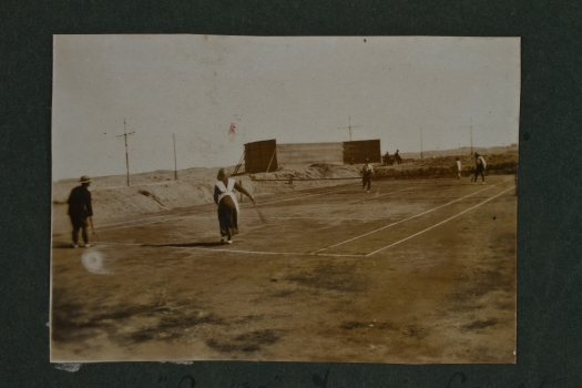 Aotea tennis court