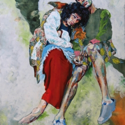 Lost Together - oil on canvas | SOLD