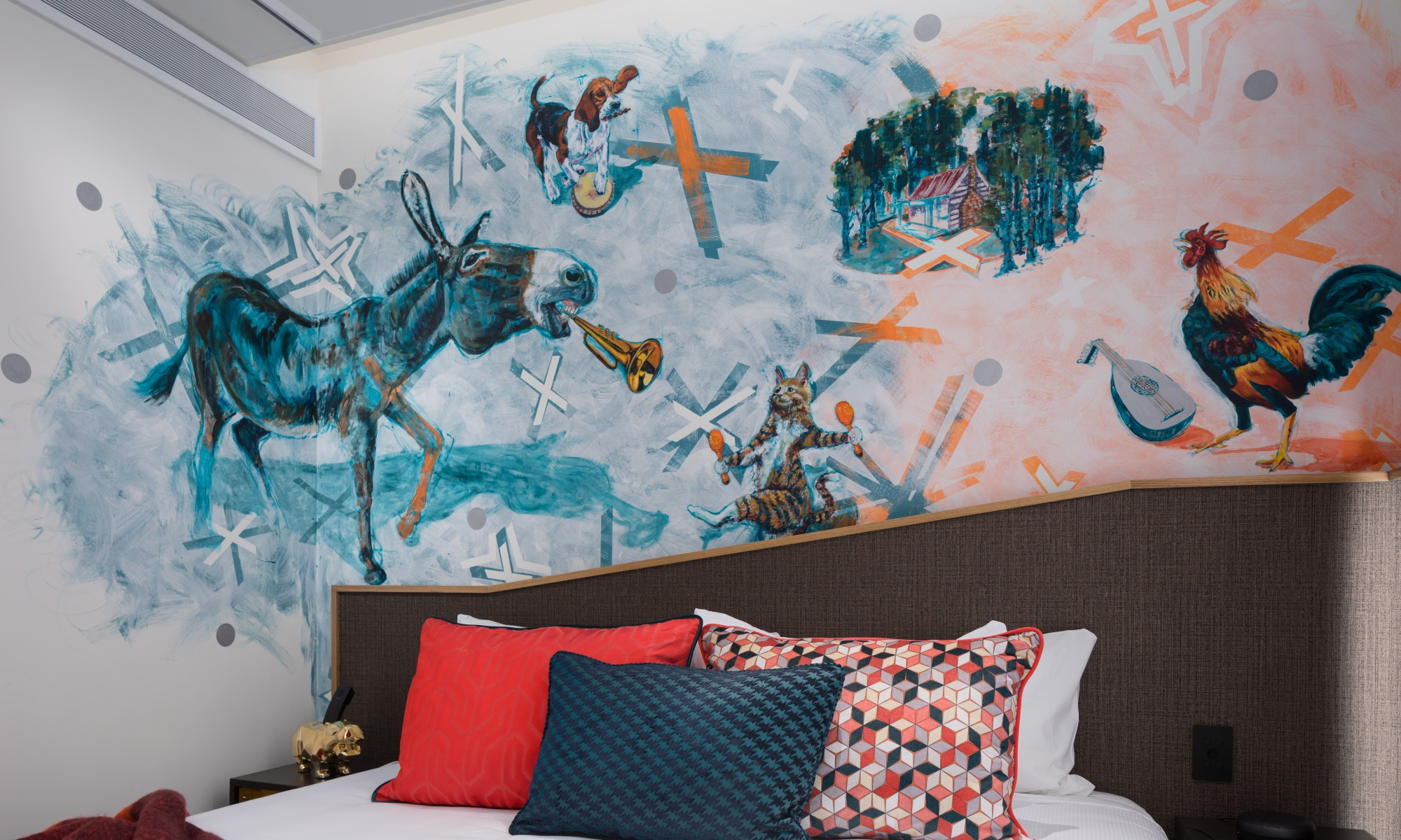 Mural commission QT Hotel Wellington