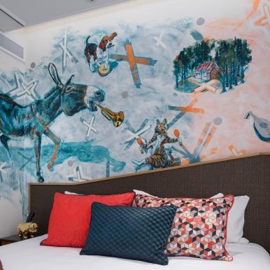 Mural commission QT Hotel Wellington